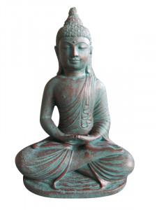 Statuette Bouddha assis méditation