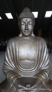 Bouddha géant doré H205cm