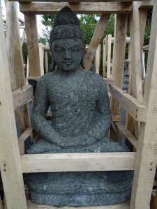 Bouddha pierre 75cm