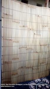 Latte clôture bambou H225xL160cm