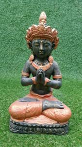 Dewi Indra Puspa rouge et doré