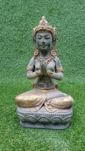 Statuette Indou Dewi Puspa