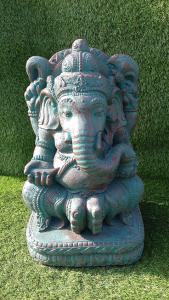 Ganesh vert bronze