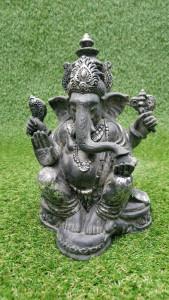 Ganesh argenté 25 cm