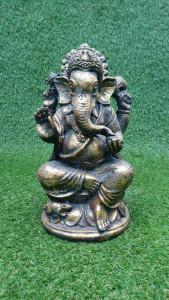 Ganesh assis résine 30 cm