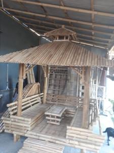 Gazebo bambou Bali 4 places