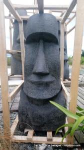 Statue Moai H100cm (arrivage Novembre 2021)