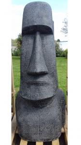 Statue légère Moai ile de Pâques H150cm
