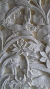 Gravure jardin de Lotus