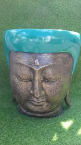 Large cache-pot visage Bouddha diam 41cm