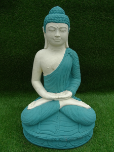 Bouddha ciment H60 cm