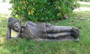Bouddha allongé 80 cm