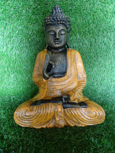 Statuette Bouddha position enseignement