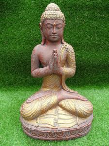 Bouddha prière H60 cm