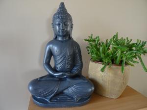 Statuette Bouddha Lotus