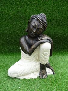 Bouddha blanc H45cm
