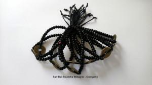 Bracelet Feng-Shui perle bois et monnaie
