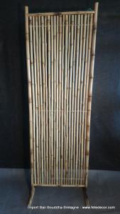 Brise vue tiges bambou H180x60cm