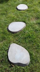 Pas japonais pierre naturelle