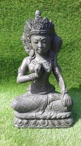 Déesse Dewi Sri vert kaki