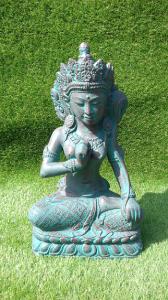 Déesse Dewi Sri vert nuance