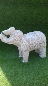 Eléphant blanc déco