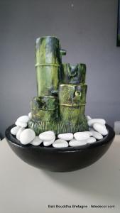 Fontaine à eau d'intérieur bambou