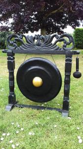 Gong noir 55 cm