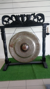 Gong 80 cm avec support