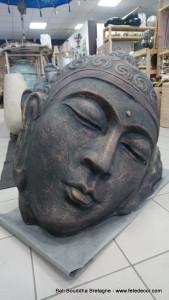 Tête allongée Bouddha (arrivage Novembre 2021)