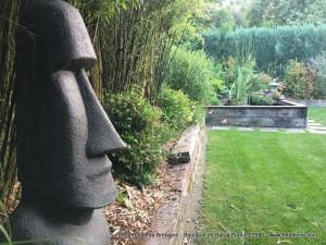 Statue Moai H150cm (arrivage Novembre 2021)