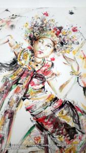 Danse traditionnel legong Bali