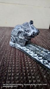 Porte encens résine avec éléphant