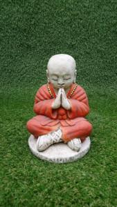 Moine Shaolin en priére