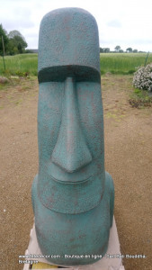 Moai H150cm vert (arrivage Novembre 2021)