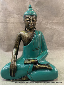 Bouddha assis en méditation
