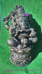 Statue Ganesh H55cm doré antique