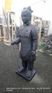 Guerrier Xian debout H145cm