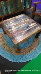 Table basse 80x80x40cm