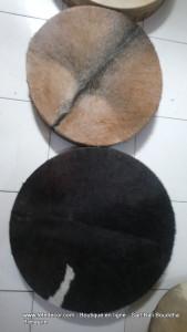 Tambour chamanique avec poil
