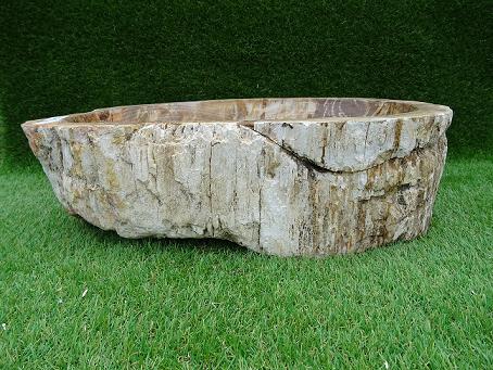 Vasque bois pétrifié 51 cm