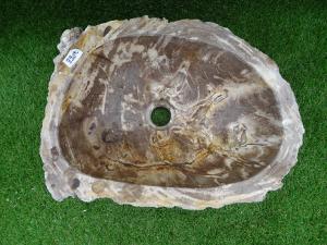 Vasque bois fossilisé