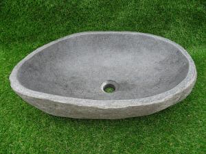 Vasque salle de bain en pierre L52 cm