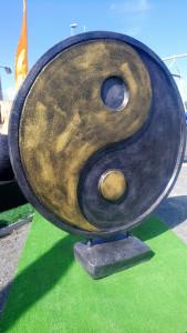 Symbole Yin Yang diamètre 100x100