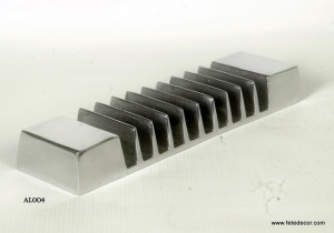 classeur lettre design aluminium