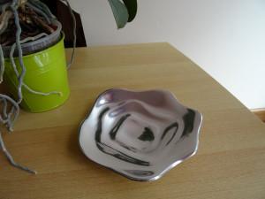 Petite soucoupe design aluminium