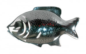 Plat métal poisson