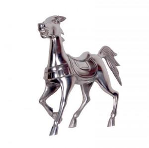 chevaux deco aluminium