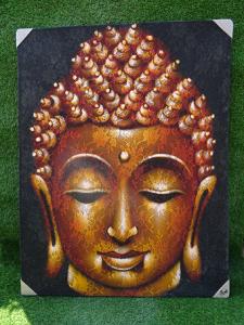 Tableau de Bouddha dentelle